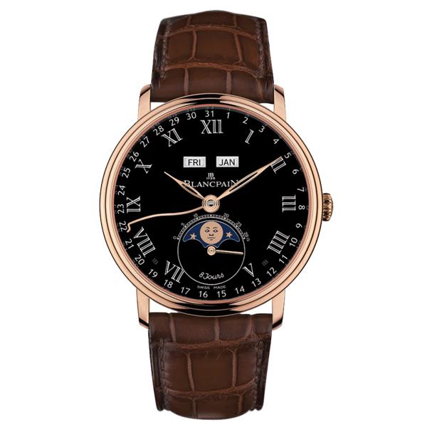 Blancpain-Villeret-Quantième-Complet-8-Jours-Hall-of-Time-6639-3637-55B-mini
