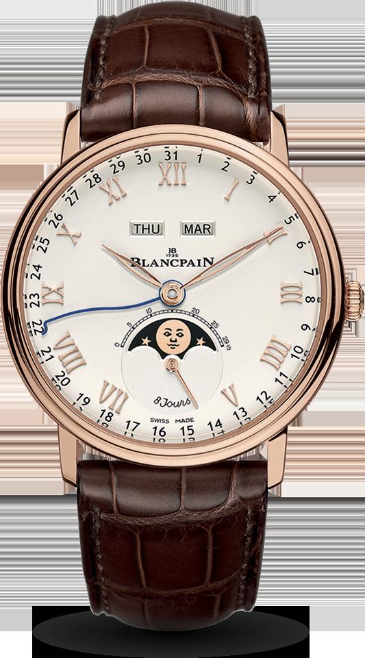 Blancpain-Villeret-Quantième-Complet-8-Jours-Hall-of-Time-6639-3642-55B