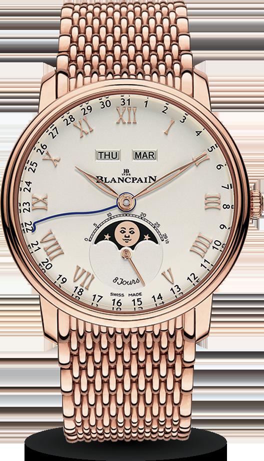 Blancpain-Villeret-Quantième-Complet-8-Jours-Hall-of-Time-6639-3642-MMB