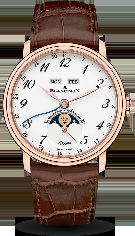 Blancpain-Villeret-Quantième-Complet-8-Jours-Hall-of-Time-6639A-3631-55A