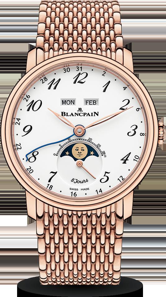 Blancpain-Villeret-Quantième-Complet-8-Jours-Hall-of-Time-6639A-3631-MMB