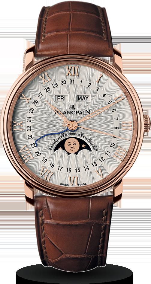 Blancpain-Villeret-Quantième-Complet-Demi-Savonnette-Hall-of-Time-6664-3642-55B*