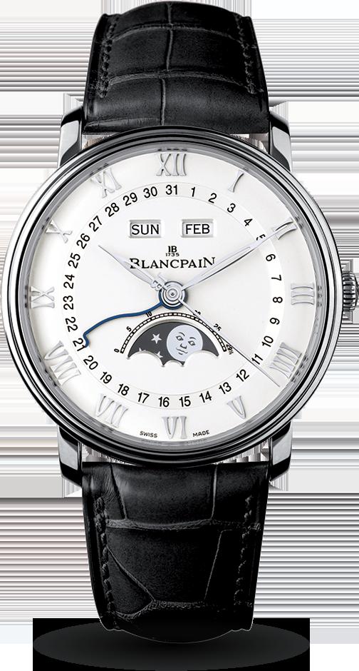 Blancpain-Villeret-Quantième-Complet-Hall-of-Time-6654-1127-55B