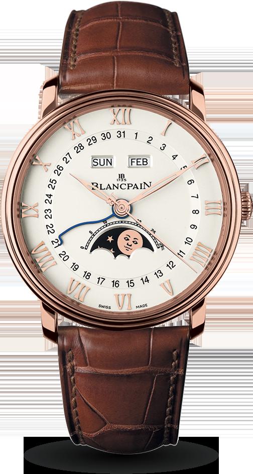 Blancpain-Villeret-Quantième-Complet-Hall-of-Time-6654-3642-55B