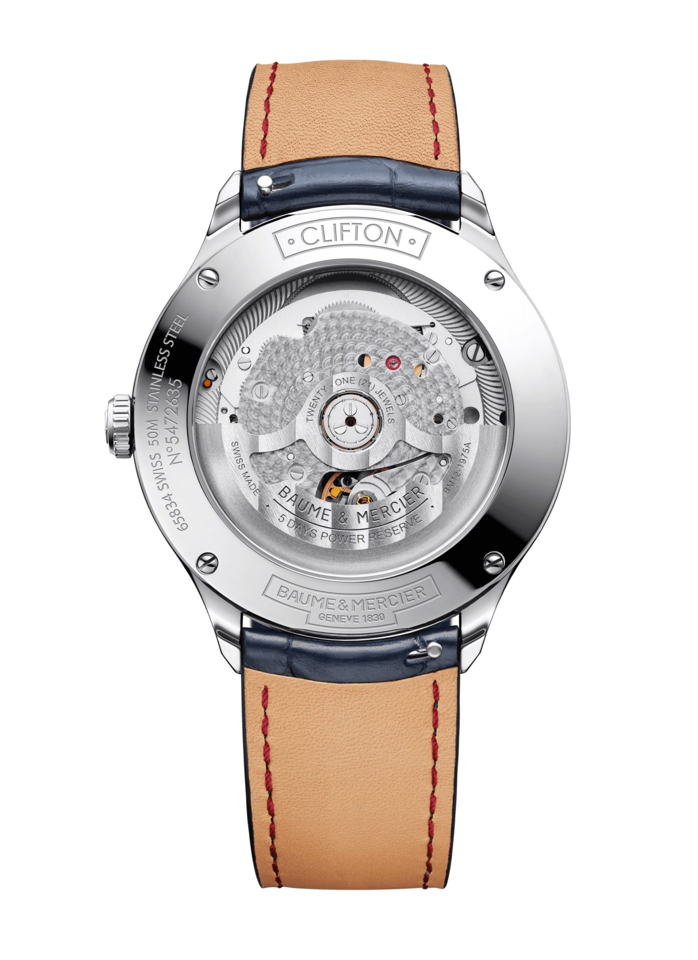 Baume-&-Mercier-Clifton-Baumatic-10398*-Hall-of-Time