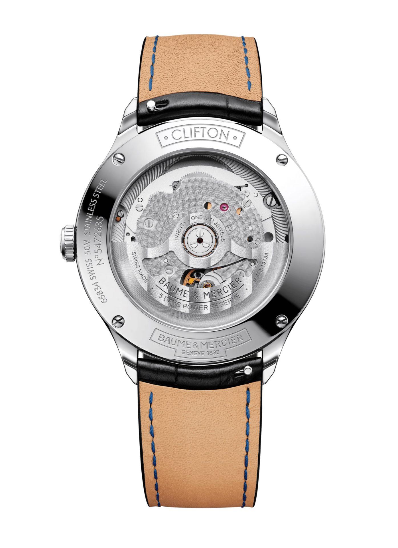 Baume-&-Mercier-Clifton-Baumatic-10399*-Hall-of-Time