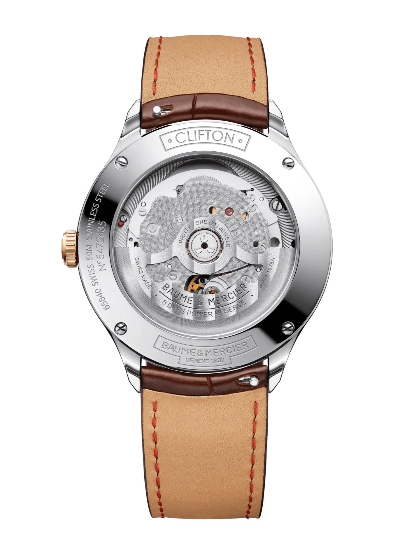 Baume-&-Mercier-Clifton-Baumatic-10401*-Hall-of-Time