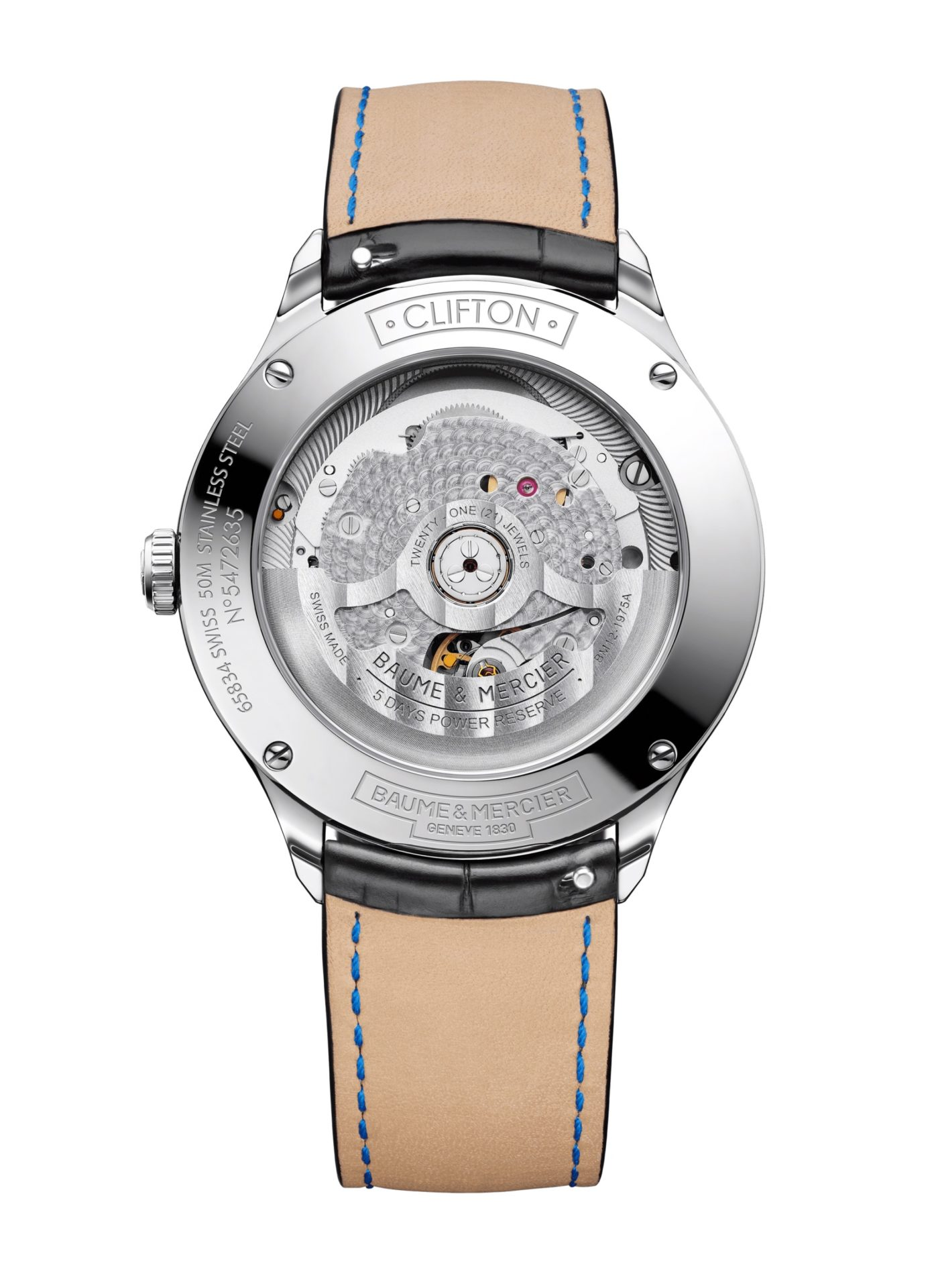 Baume-&-Mercier-Clifton-Baumatic-10436*-Hall-of-Time