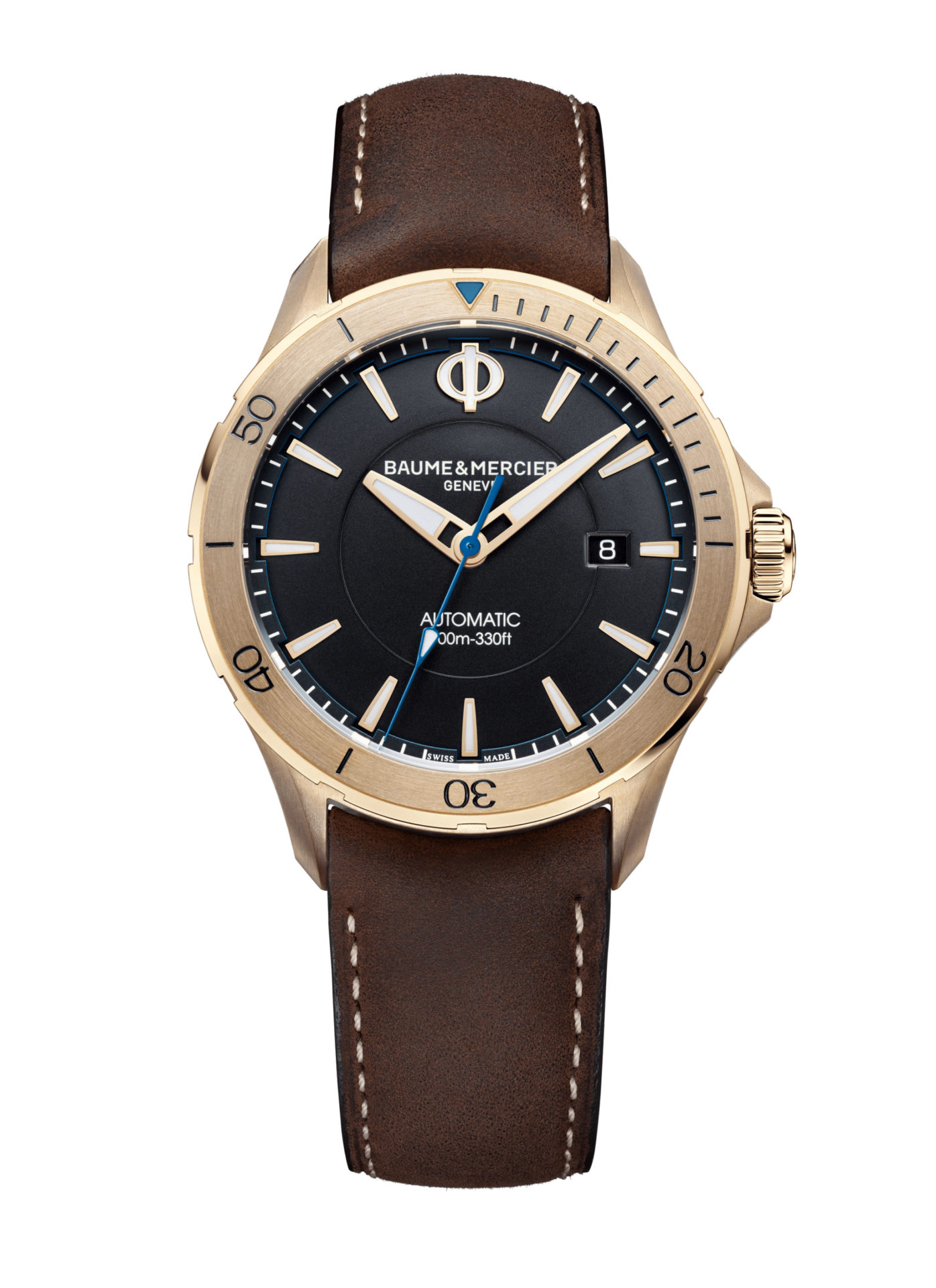 Baume-&-Mercier-Clifton-Club-10500**-Hall-of-Time