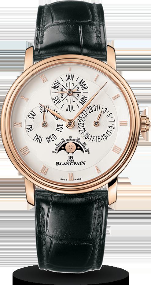 Blancpain-Villeret-Quantième-Perpétuel-Hall-of-Time-6057-3642-55A