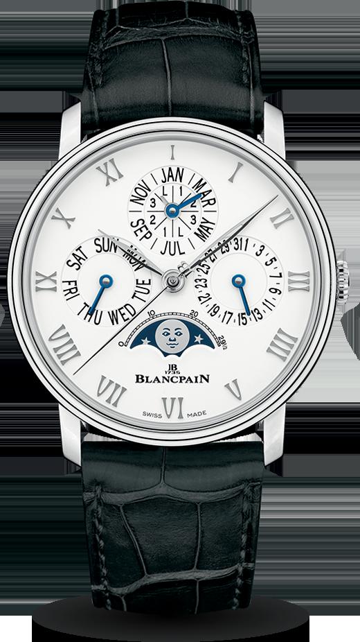 Blancpain-Villeret-Quantième-Perpétuel-Phases-de-Lune-Hall-of-Time-6656-1127-55B