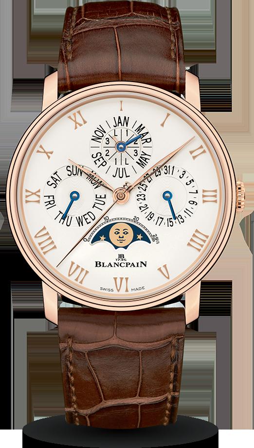 Blancpain-Villeret-Quantième-Perpétuel-Phases-de-Lune-Hall-of-Time-6656-3642-55A