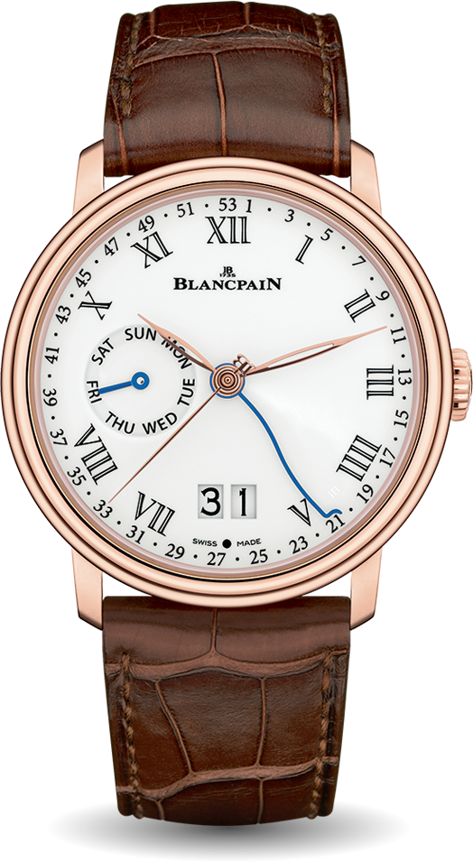 Blancpain-Villeret-Semainier-Grande-Date-8-Jours-Hall-of-Time-6637-3631-55A