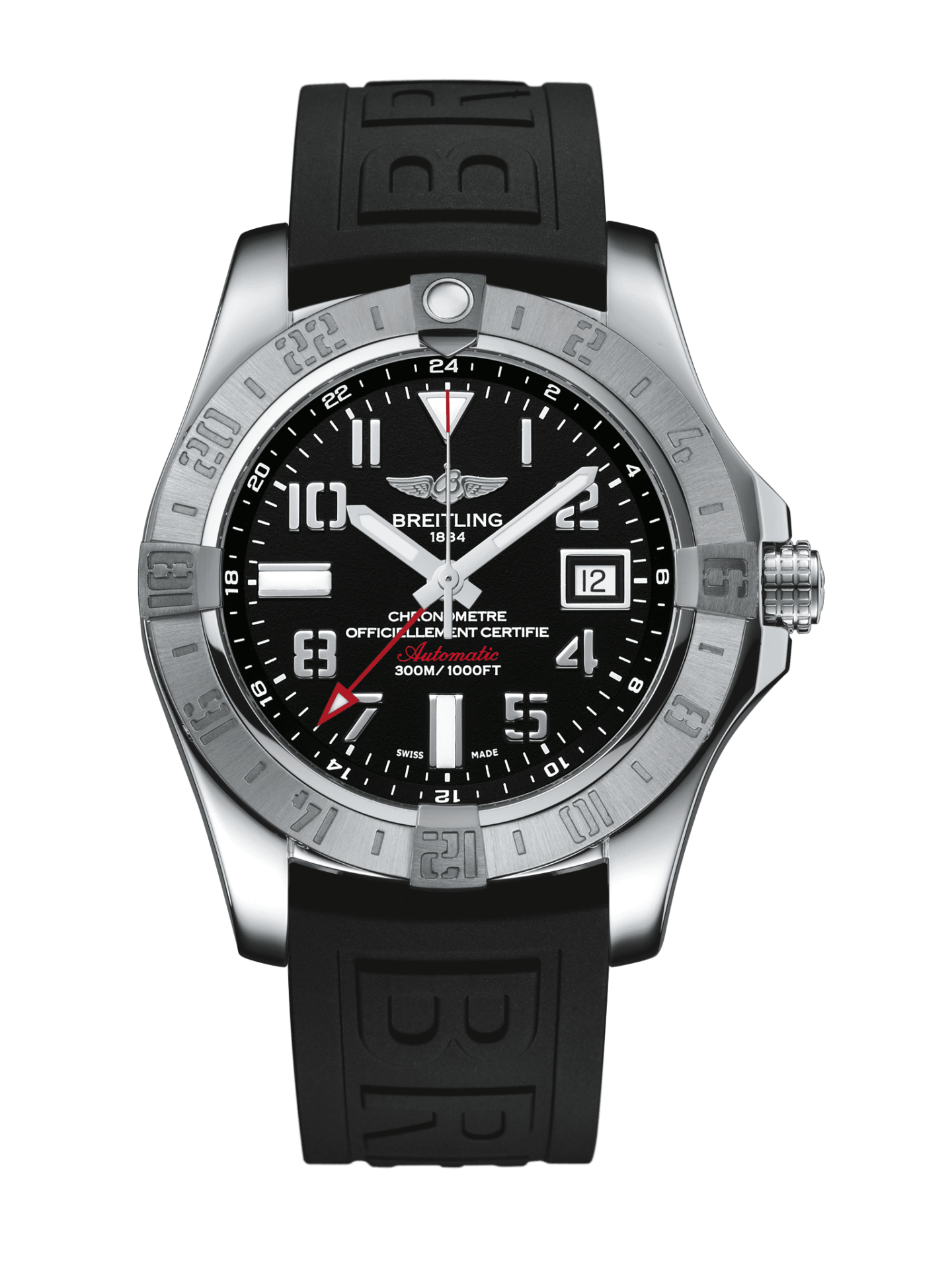 Breitling-Avenger-Avenger-II-GMT-Hall-of-Time-A32390111B2S1