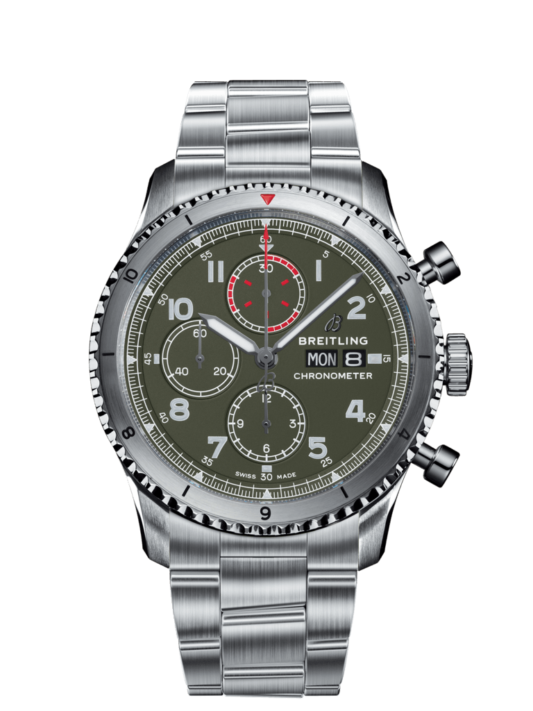 Breitling-Aviator-8-Chronograph-43-Curtiss-Warhawk-Hall-of-Time-A133161A1L1A1