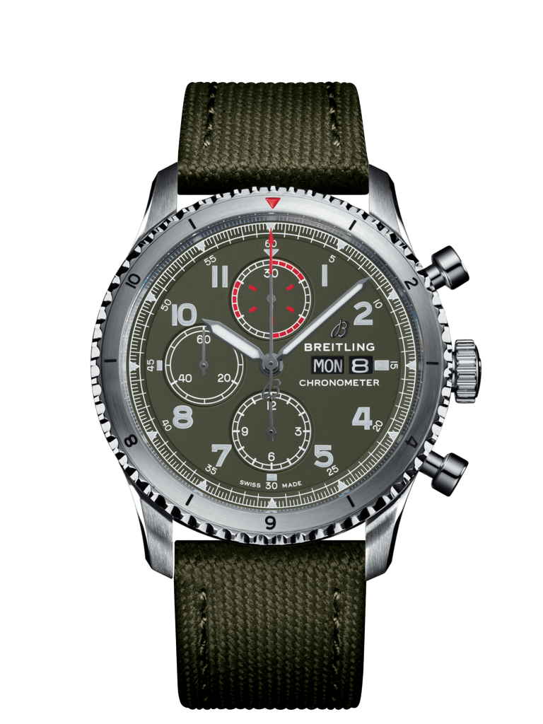 Breitling-Aviator-8-Chronograph-43-Curtiss-Warhawk-Hall-of-Time-A133161A1L1X1