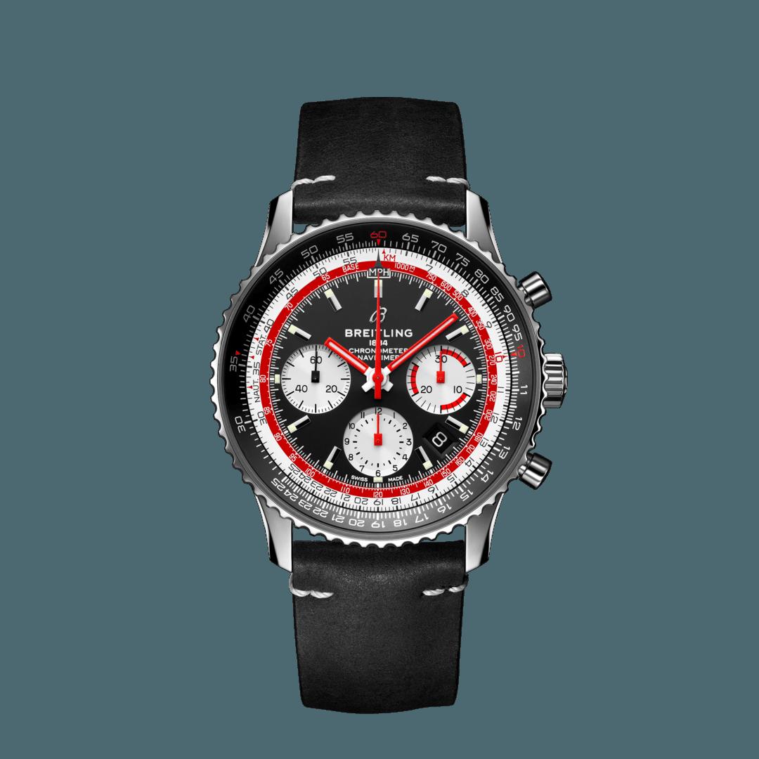 Breitling-Navitimer-B01-Chronograph-43-Swissair-Hall-of-Time-AB01211B1B1X1