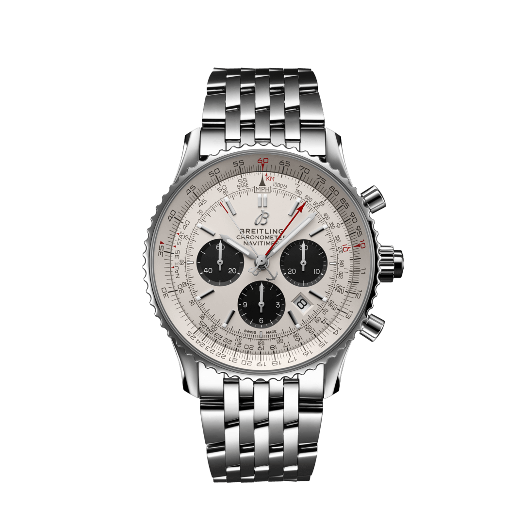 Breitling-Navitimer-B03-Chronograph-Rattrapante-45-Hall-of-Time-AB0310211G1A1
