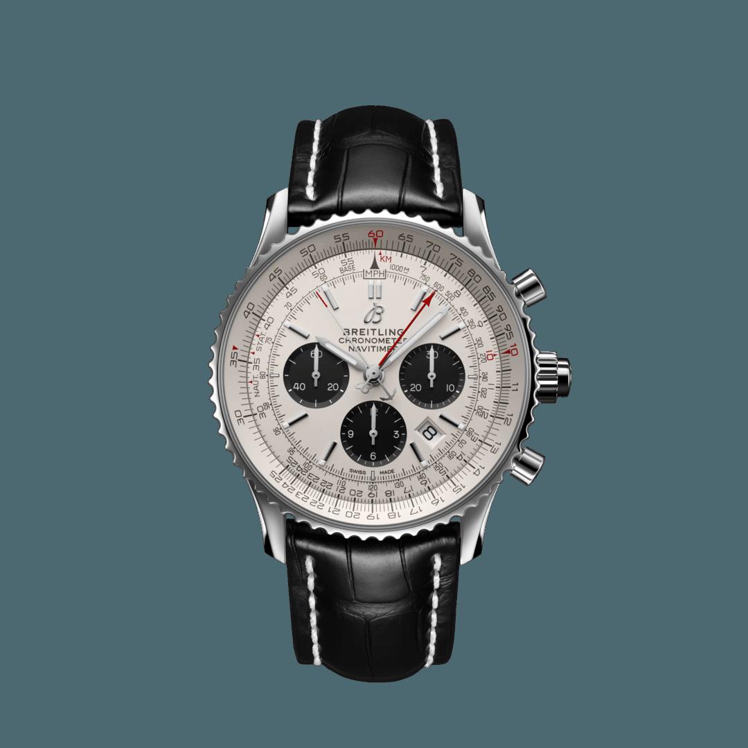 Breitling-Navitimer-B03-Chronograph-Rattrapante-45-Hall-of-Time-AB0310211G1P1