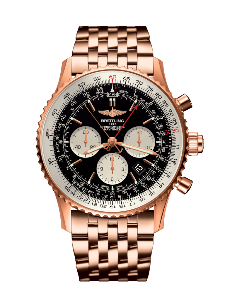 Breitling-Navitimer-B03-Chronograph-Rattrapante-45-Hall-of-Time-RB031121-BG11-443R