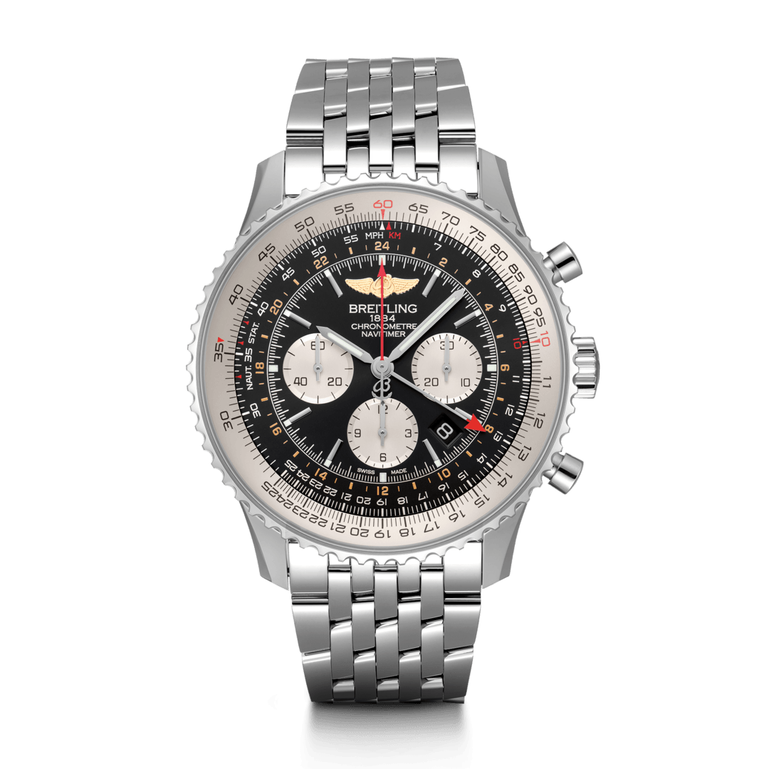 Breitling-Navitimer-B04-Chronograph-GMT-48-Hall-of-Time-AB0441211B1A1
