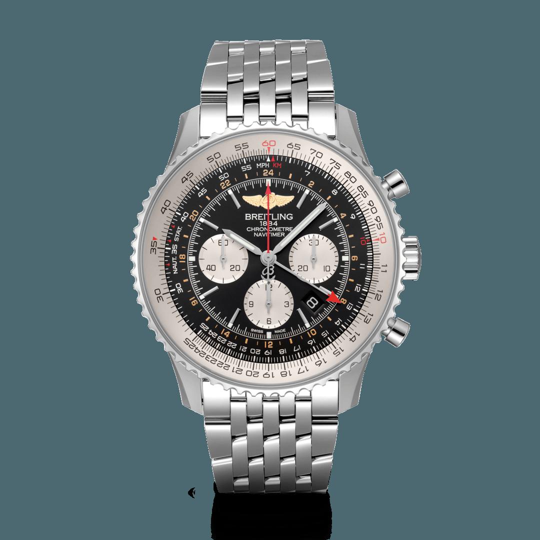 Breitling-Navitimer-B04-Chronograph-GMT-48-Hall-of-Time-AB0441211B1A1