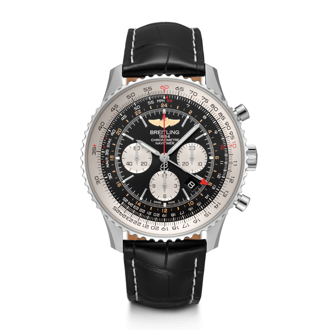 Breitling-Navitimer-B04-Chronograph-GMT-48-Hall-of-Time-AB0441211B1P1