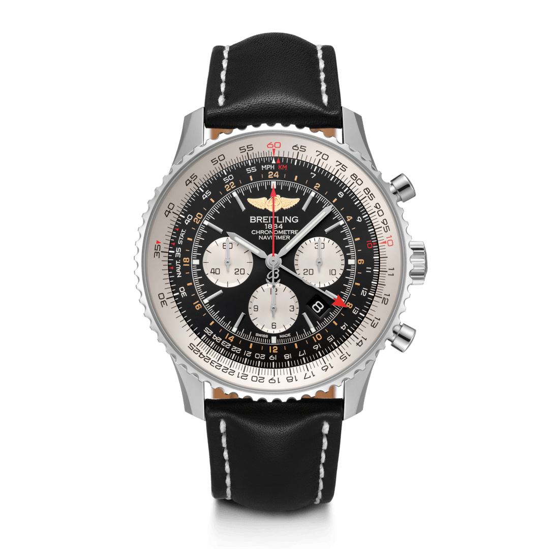Breitling-Navitimer-B04-Chronograph-GMT-48-Hall-of-Time-AB0441211B1X1
