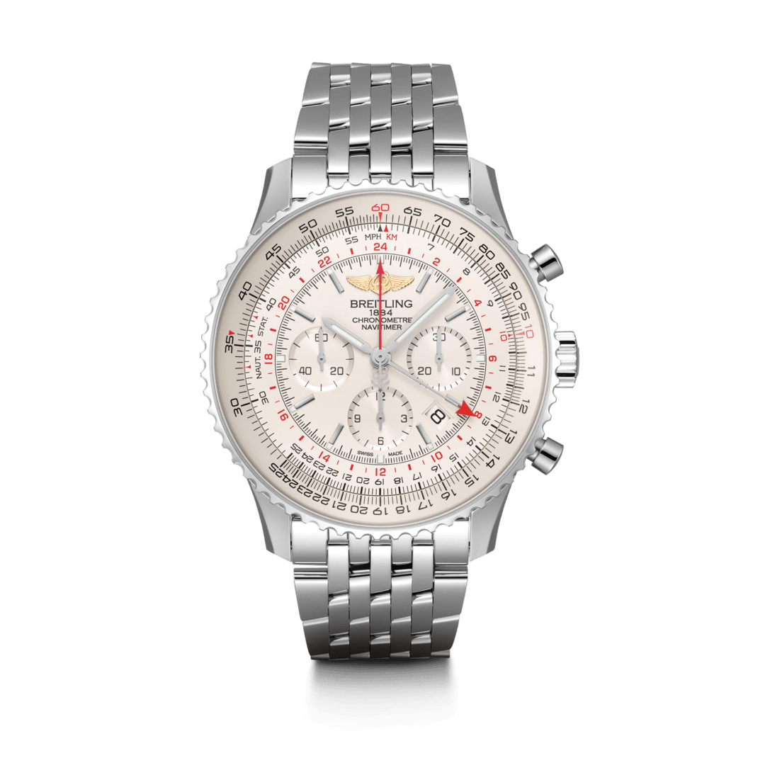 Breitling-Navitimer-B04-Chronograph-GMT-48-Hall-of-Time-AB0441211G1A1