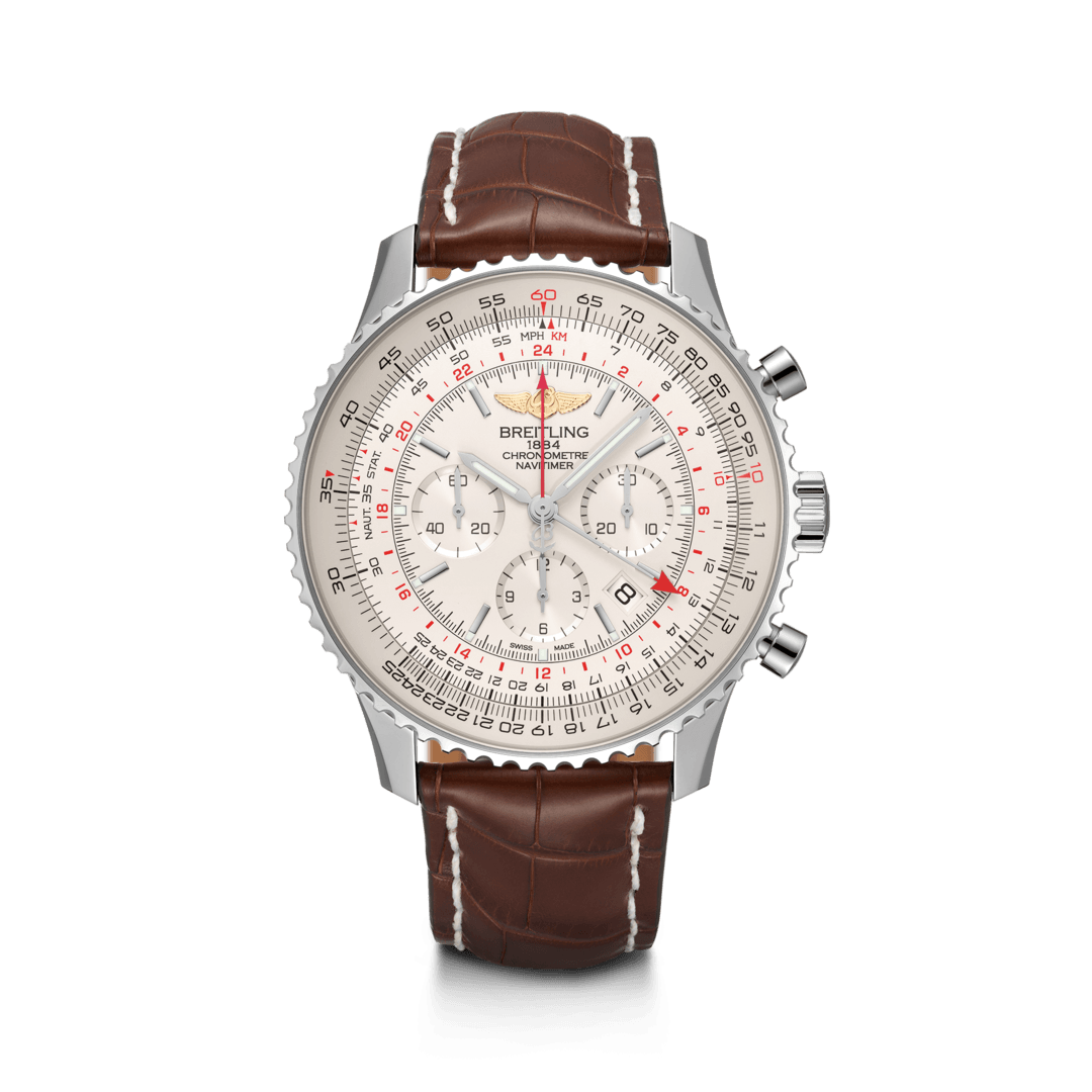 Breitling-Navitimer-B04-Chronograph-GMT-48-Hall-of-Time-AB0441211G1P1