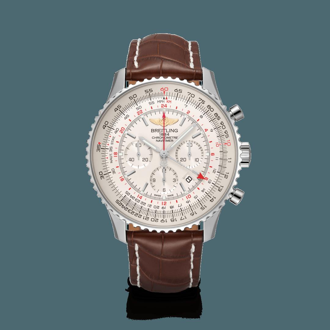 Breitling-Navitimer-B04-Chronograph-GMT-48-Hall-of-Time-AB0441211G1P1