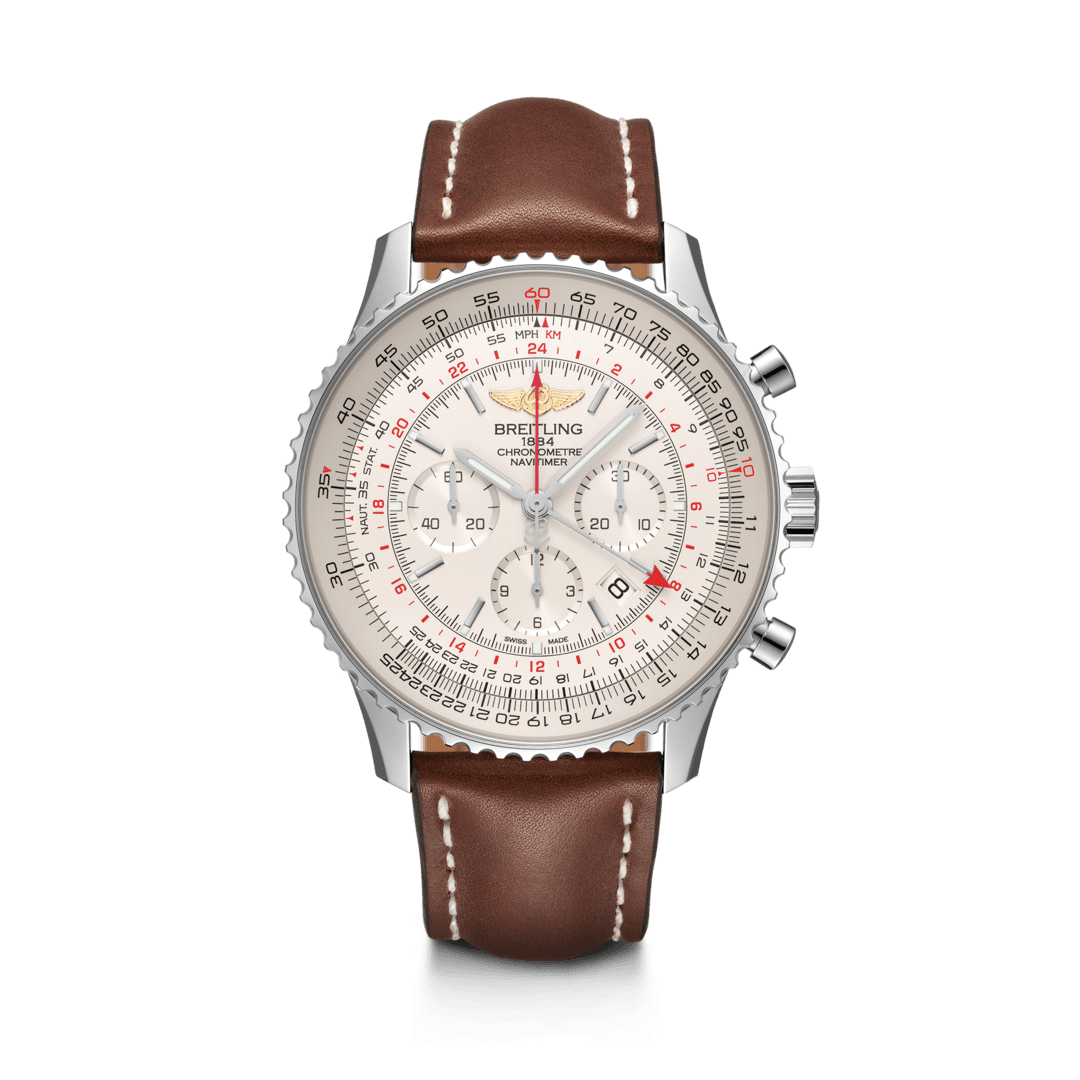 Breitling-Navitimer-B04-Chronograph-GMT-48-Hall-of-Time-AB0441211G1X1