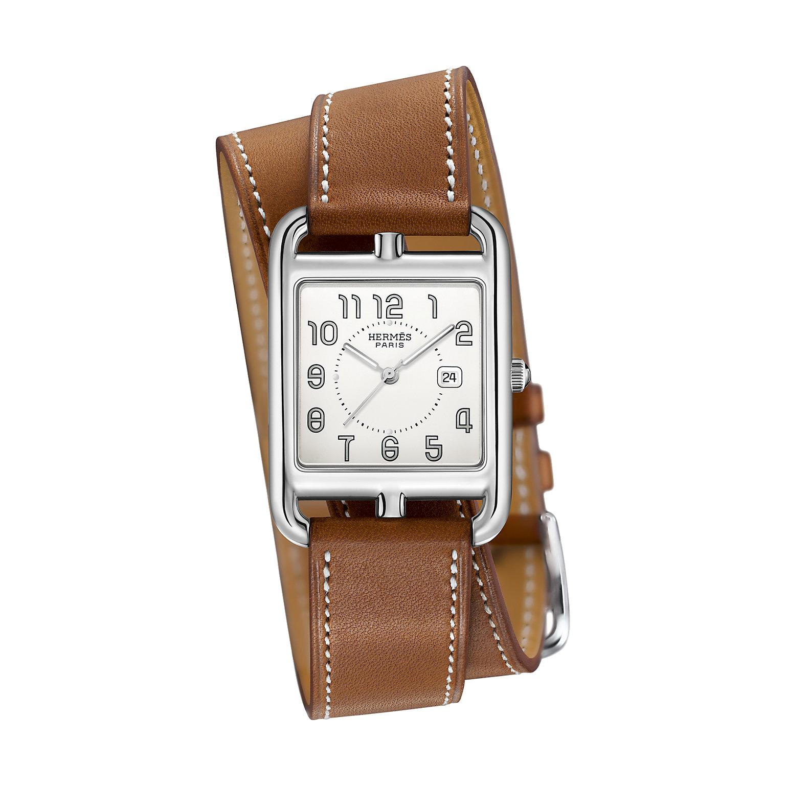 Hermès-cape-cod-29-x-29mm-Hall-of-Time-043653WW00