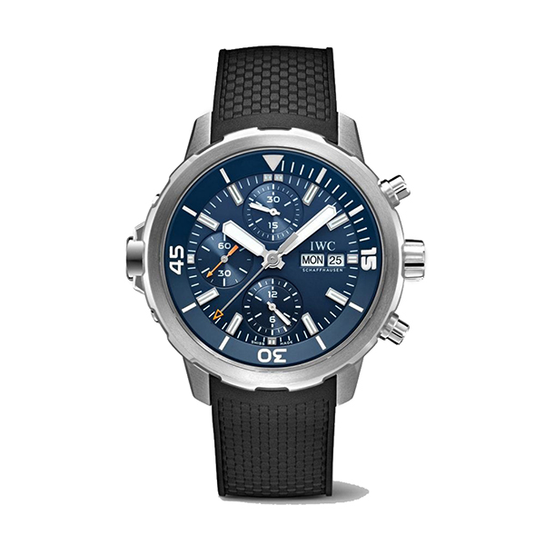 IWC-Montre-Aquatimer-Chronographe-Expédition-Cousteau-Hall-of-Time-IW376805