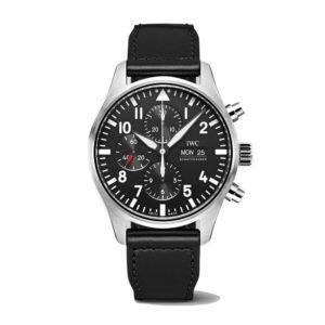IWC-Montre-Montres-d'Aviateur-Classique-Chronographe-Hall-of-Time-IW377709