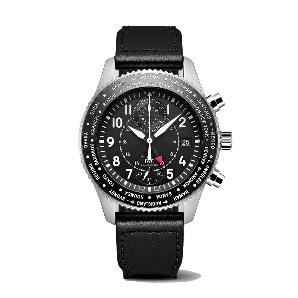 IWC-Montre-Montres-d'Aviateur-Classique-Timezoner-Chronographe-IW395001