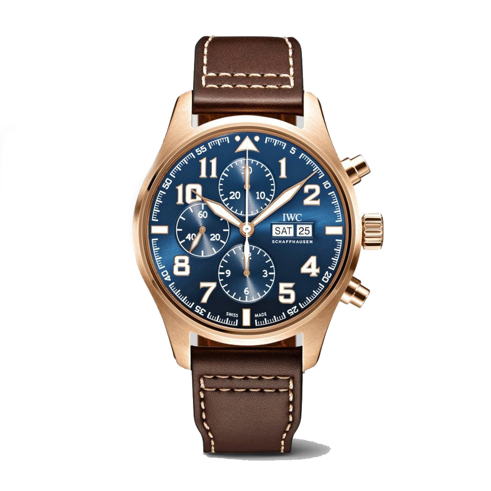 IWC-Montre-Montres-d'Aviateur-Le-Petit-Prince-Chronographe-Hall-of-Time-IW377721