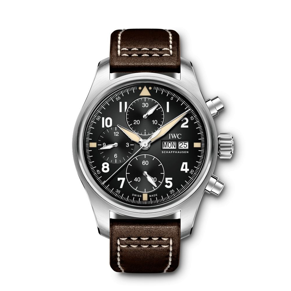 IWC-Montre-Montres-d'Aviateur-Spitfire-Chronographe-Hall-of-Time-IW387903