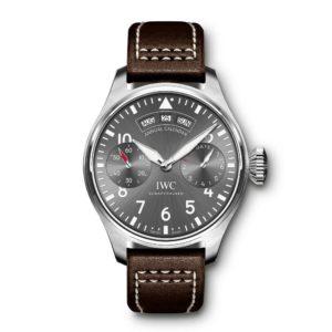 IWC-Montre-Montres-d'Aviateur-Spitfire-Grande-Montre-d'Aviateur-Calendrier-Annuel-Hall-of-Time-IW502702