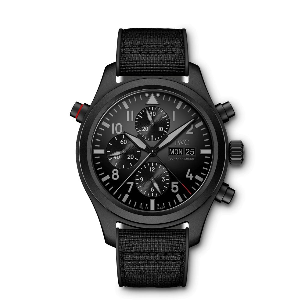IWC-Montre-Montres-d'Aviateur-Top-Gun-Double-Chronographe-Ceratanium-Hall-of-Time-IW377815