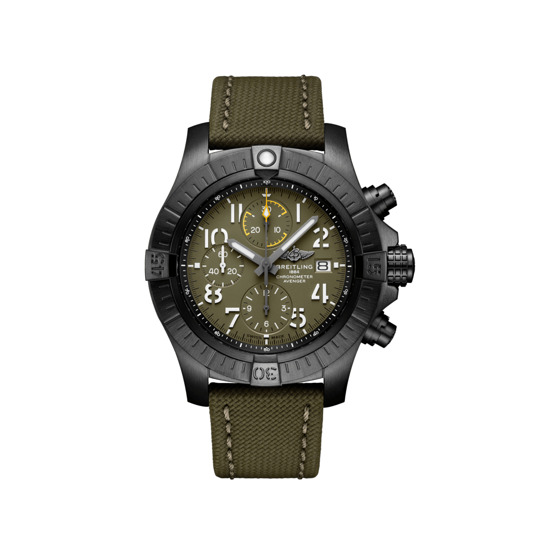 Photos-Hall-of-Time-Bruxelles-2019-Breitling:Photos:Avenger:Super-Avenger-Chronographe-45-Night-Missionv13317101l1x1