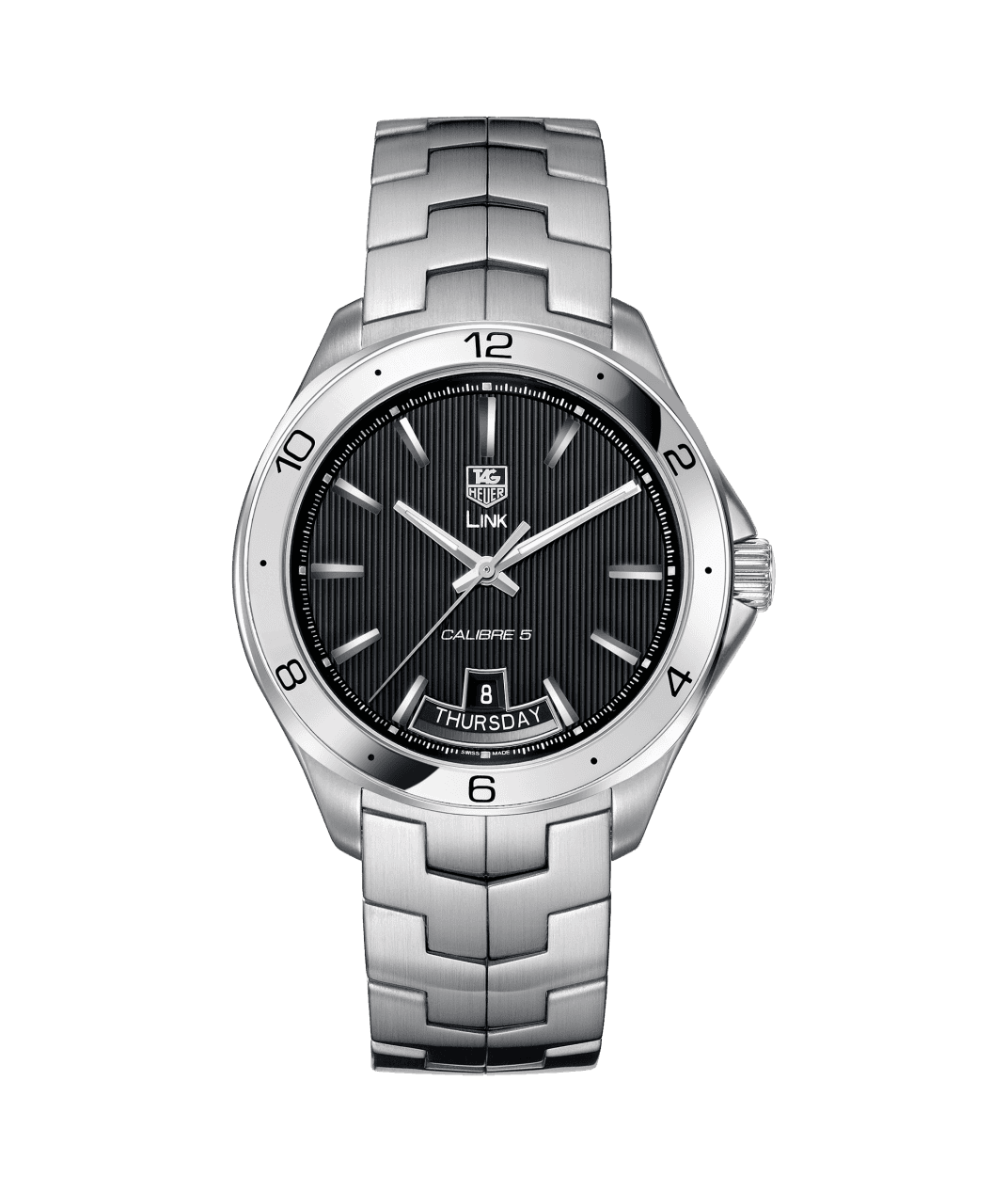 Tag-Heuer-Montre-Link-Calibre-5-Day-Date-Hall-of-Time-WAT2010-BA0951