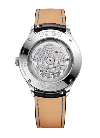 Baume-&-Mercier-Clifton-Baumatic-10467*-Hall-of-Time
