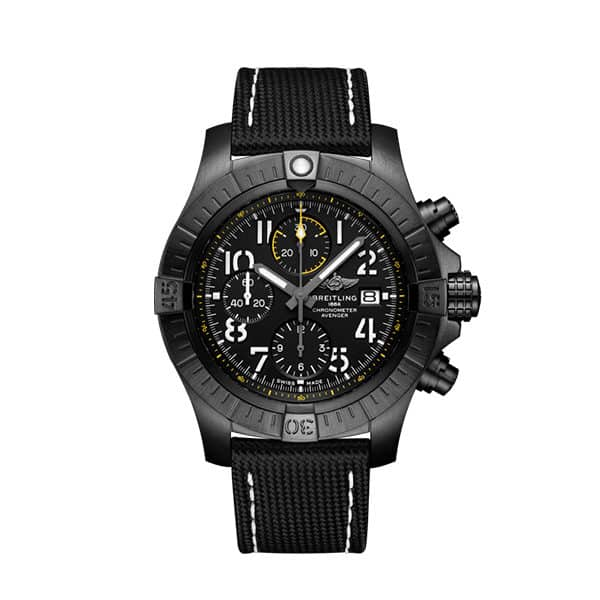 Breitling Avenger Super Avenger Chronographe 45 Night Mission-Black